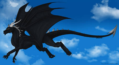 Darko - The mercenary dragon by LadyRK