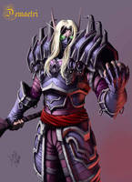 Blood Elf Rogue by mohzart