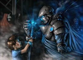 Father's Golem by mohzart