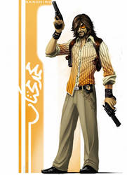 Detective Sanshiro by mohzart