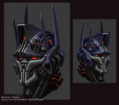 Optimus Prime Core Corruption by mohzart