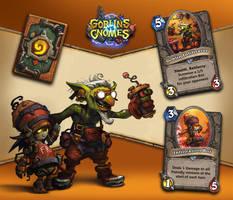 Goblins vs Gnomes: The Goblin Infiltrator by mohzart
