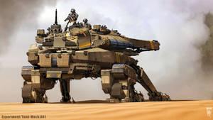 Tank-Mech Experiment.001 by mohzart