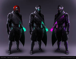 DESTINY - Warlock redesign by mohzart