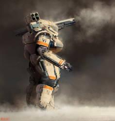 Heavy tank suit by mohzart