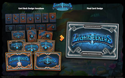 LIGHTSEEKERS TCG Card Design back by mohzart