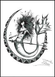 Dreamcatcher Mermaid by ZascaAwakening