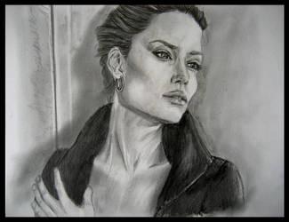 Angelina Jolie by JenniferTheFirst