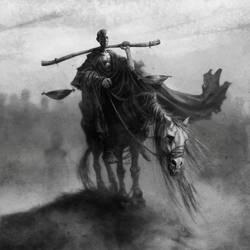 Famine/Four horsemen by valiorea