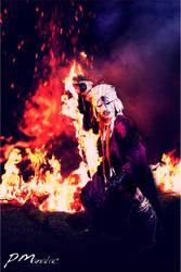 Shishio Makoto - Flames of Mugenjin by big-pao