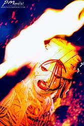 Shishio Makoto - The burning Hand by big-pao