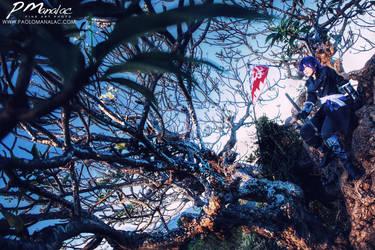 Hajime Saitou - a beautiful tree by big-pao