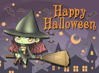 Happy Halloween! ^^ by Suisaiga012