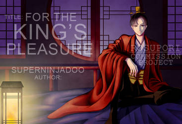 Commission:  For The King's Pleasure Book Cover by Suisaiga012