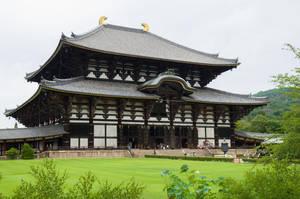Nara: Todai-ji Daibutsuden by Daiyoukai-sama