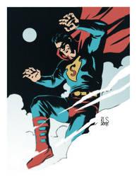 Superman by ronsalas