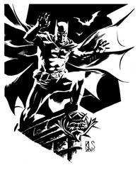 Twart - Batman by ronsalas