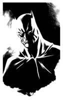 Mike Hawthorne Batman inks by ronsalas
