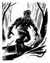 Twart - The Wolfman by ronsalas