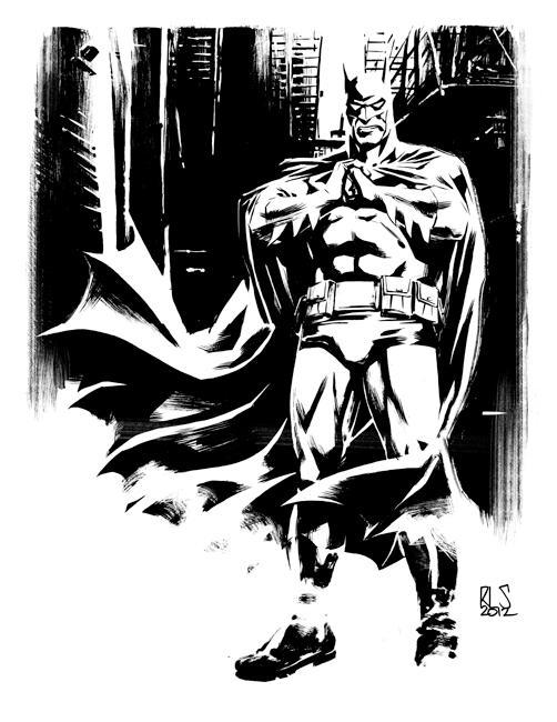 Batman Alley by ronsalas