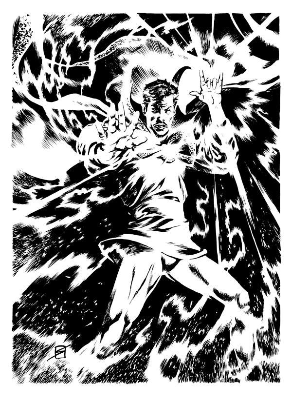 Stephen Strange, Sorceror Supreme by ronsalas