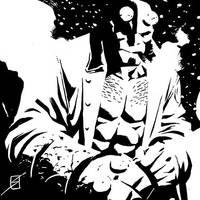 Hellboy 6x6 by ronsalas