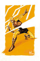 Daredevil Yellow Commish by deadlymike