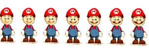 Mario goes Movember Progress by deadlymike
