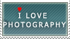 I Love Photography stamp by Heineken79