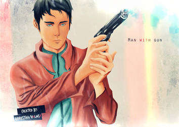 Man with Gun by HolmsX