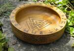 Valknot Ritual Bowl by UrnesAshTree