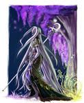 Nightelf Druid by justonewing