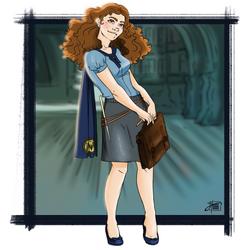 DEJ - 01 Hermine Granger by justonewing