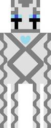 Gilgamesh Aka Gil The Enderman/Gast Hybrid by cyberdragon5