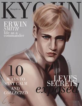 SnK Magazine: Erwin by emametlo