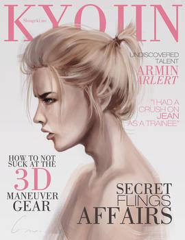 SnK Magazine: Armin by emametlo