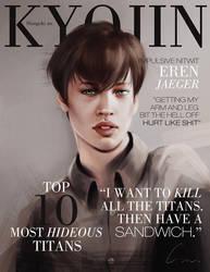SnK Magazine: Eren by emametlo
