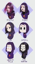 Style Challenge | Raven by emametlo