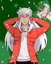 INUYASHA!!! by fingerpaint888