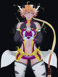Kora Xenoblade Chronicles 2 Fanart by Linkzelda41