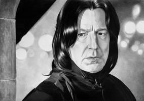 Severus Snape by EchoesOfRae