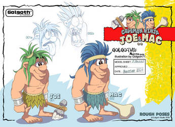 CharaDesign JoeMac02 by golgoth71