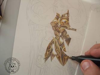 Saint Seiya Gold Belier by golgoth71