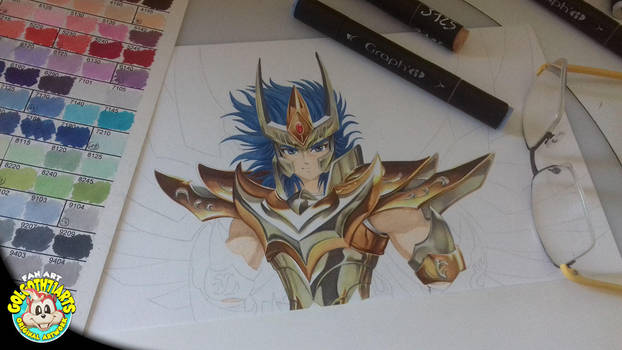 Chevalier du Zodiaque Ikki Phoenix by golgoth71