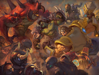 Heroes of the storm: breakthrough by Romangraver