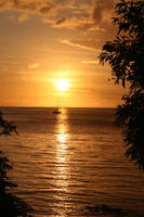 Mauritius Sunset I by TheRealThalion