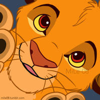 Simba! by MiLe-08