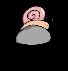 snail ._. by Hywella-ARts