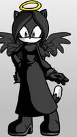 Bethany the dark angel cat by KittenKittyGirl