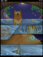 Adal Wolf Comic Prologue PG 2 by KateChambers
